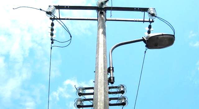 eclairage publique à kin