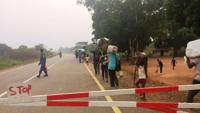 expulsés de la Rdcongo à l'Angola