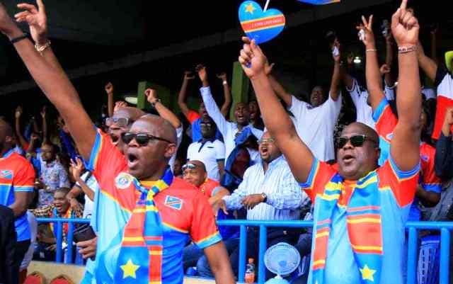 felix tshisekedi au stade de martyrs