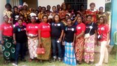 femmes du quartier Ndanu et Nzadi
