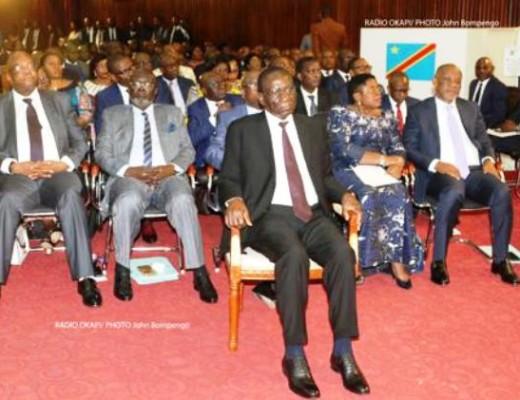 investiture du Gouvernement Sylvestre Ilunga