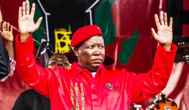 julius Malema sud afrique