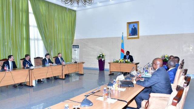 kabila Le chef de l'état et les opérateurs miniers