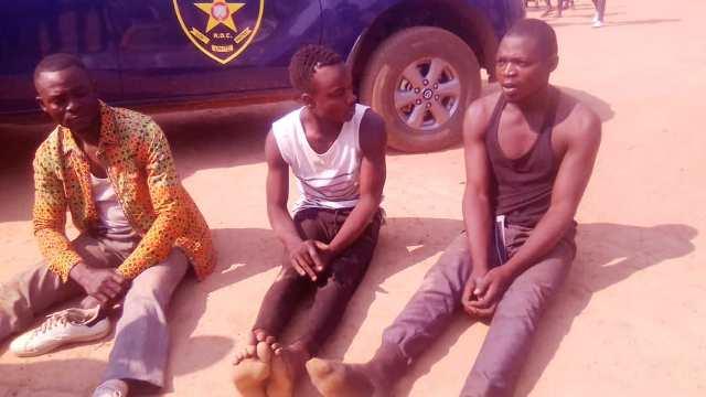 kinshasa Des bandits à mains armées présentés par la police