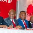 membres du conseil d'administration à la 55ème Assemblée Générale Annuelle de UBA, tenue à Lagos