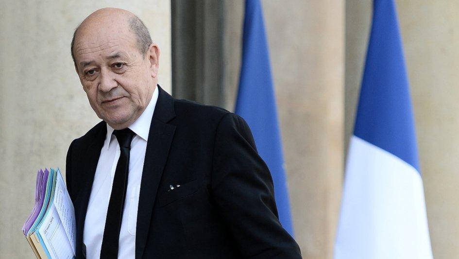 ministre français Jean-Yves Le Drian