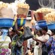 Des femmes vendeuses de pains devant l'usine de panification (Pain Victoire) à Kinshasa. Radio Okapi/Ph. John Bompengo