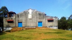 Devant la cathédrale de Beni (Nord-Kivu). 15/11/2016. Ph. Radio Okapi/Freddy Lufulwabo