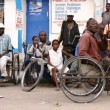 Des handicappés de la polio, Kinshasa, 2005.