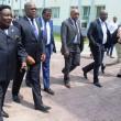 Des opposants, membres du Rassemblement, lors de l'ouverture du dialogue national inclusif à Kinshasa, le 08/12/2016. Radio Okapi/Ph. John Bompengo.