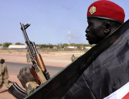 rebelles sud-soudanais sur le sol congolaise
