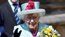 reine Elisabeth II lors des festivités de ses 93 ans à Londres