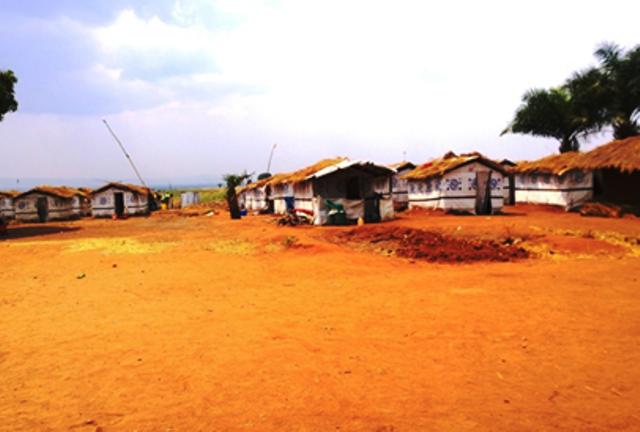 site de déplacés d'Eliya près de Kalemie