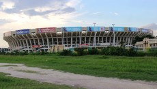 Une vue du stade des martyrs à Kinshasa. Radio Okapi/ Ph. John Bompengo