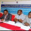 travaux de renforcement des capacités des magistrats en gestion des contentieux électoraux
