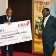 uba donne 150000$ au gouvernement de la rdc
