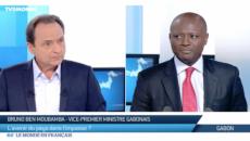 vice-premier ministre gabonais sur TV5Mondeafrique